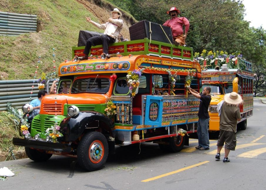 Colombia Discovery 7 Stop Magical Mystery Tour Act Of